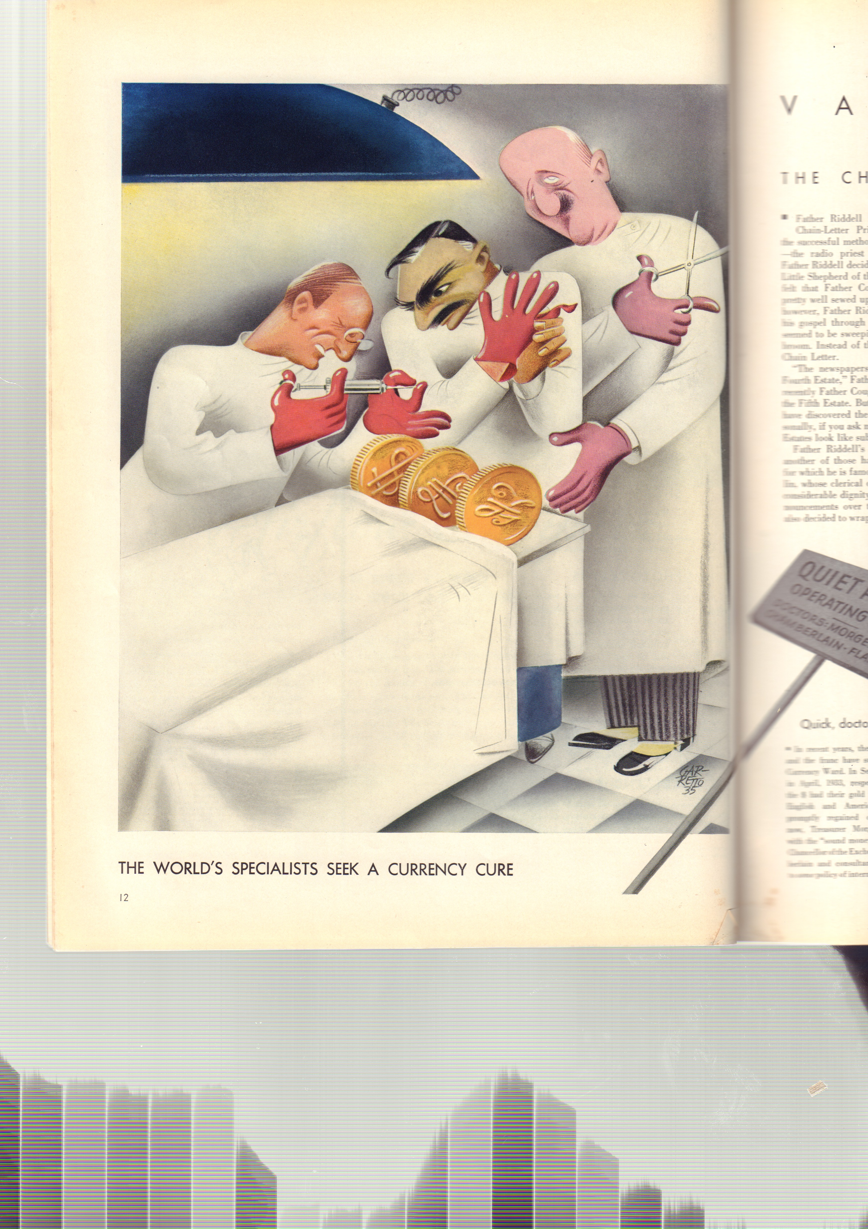 Image for Vanity Fair Magazine, July 1935