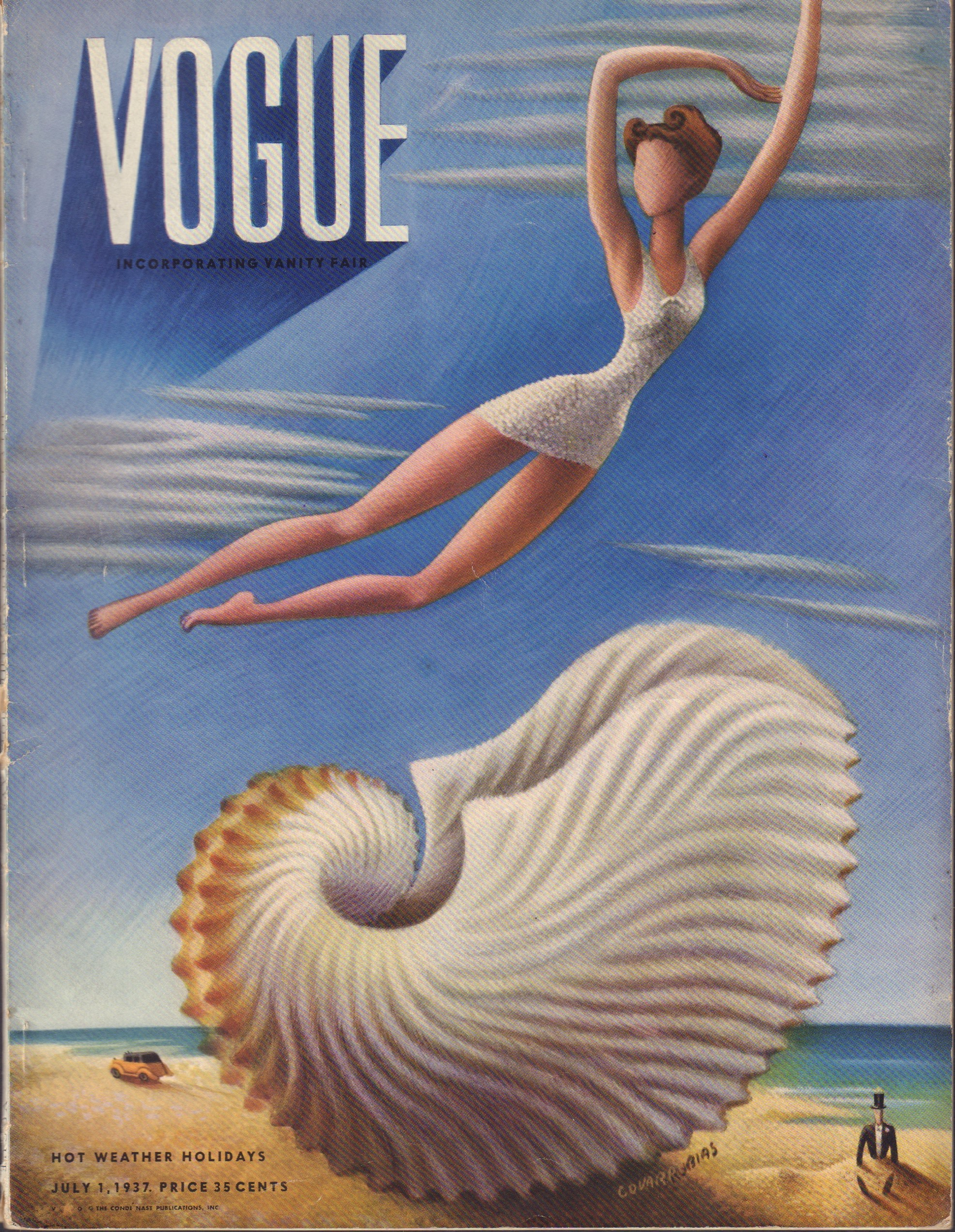Image for Vogue Magazine July 1st, 1937