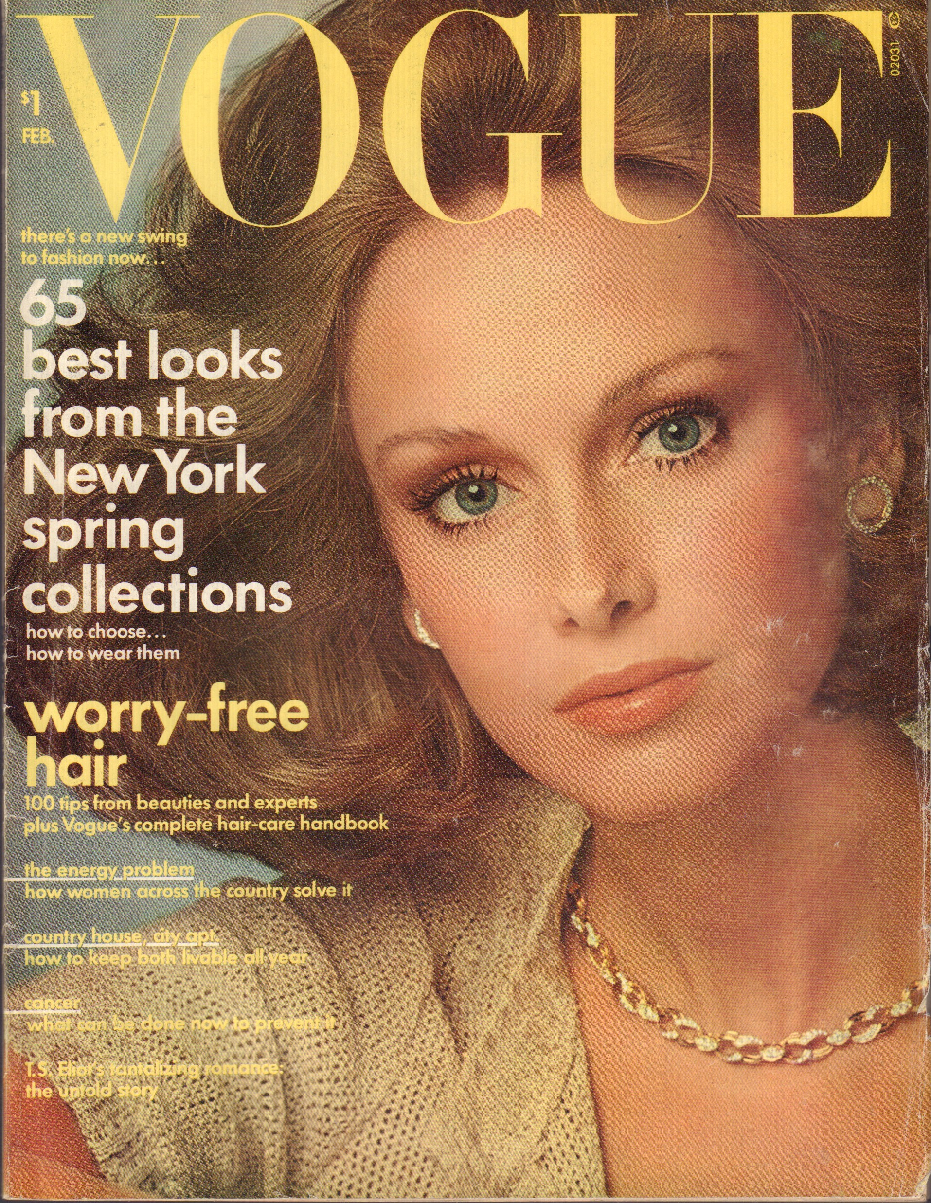 Image for Vogue - February, 1974 (Incorporating Vanity Fair)