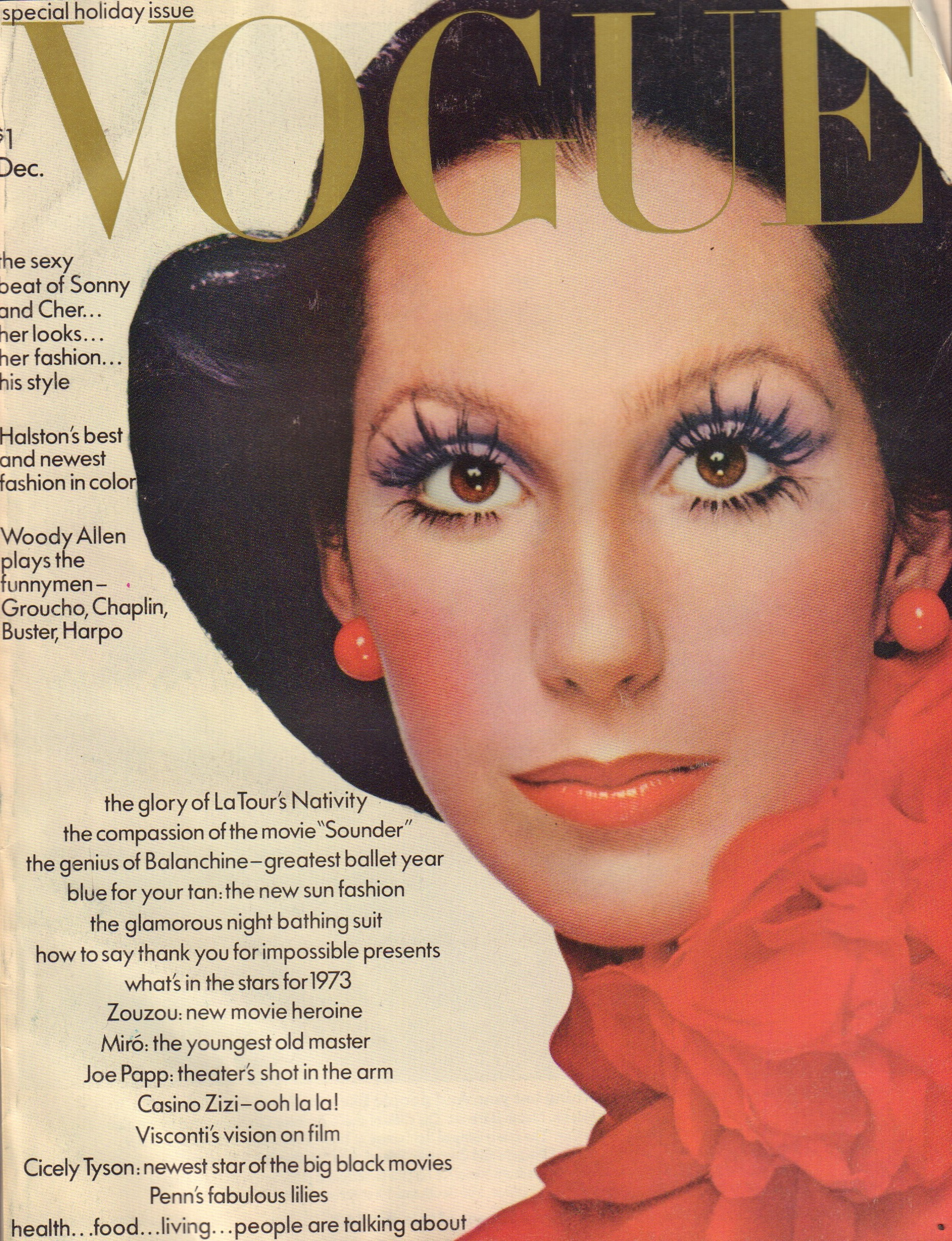 Image for Vogue - December 1972 - Special Holiday Issue